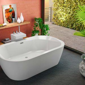 Adam & Eva térbenálló fürdőkád