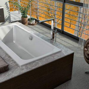 Bell E2 sülyesztett fürdőkád