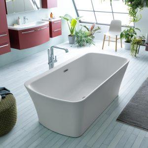 Marilyn térbenálló fürdőkád